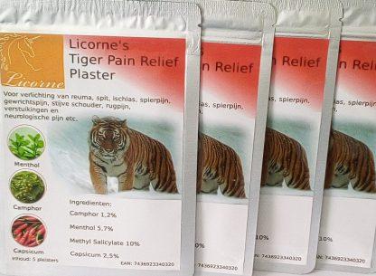 licorne's tiger pain relief plaster