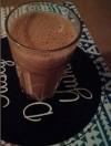 drinkglas chocomel tomaat banaan wortel maaltijdshake