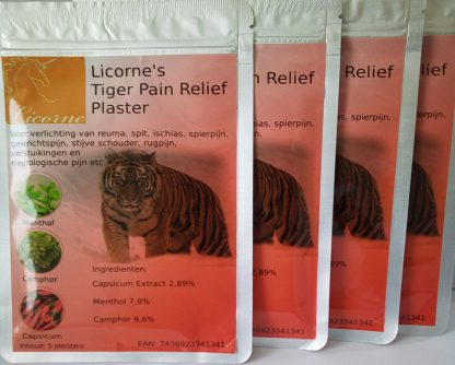 licorne's tiger pain relief hot