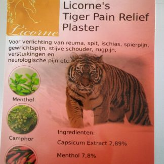 tiger pain relief hot
